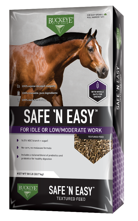 SAFE 'N EASY™ Textured Feed package