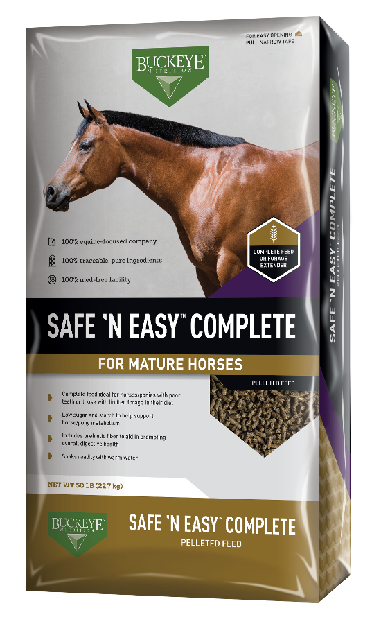 SAFE 'N EASY™ Complete Pelleted Feed package