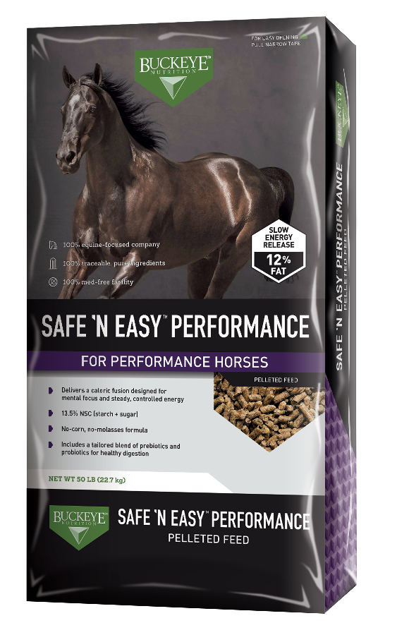 SAFE 'N EASY™ PERFORMANCE Pelleted Feed package