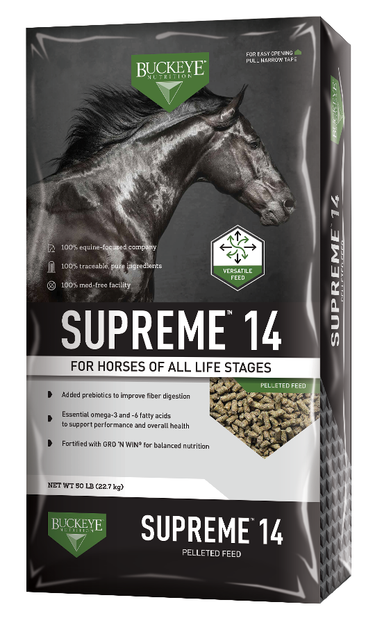 SUPREME™ 14 Pelleted Feed image 1++